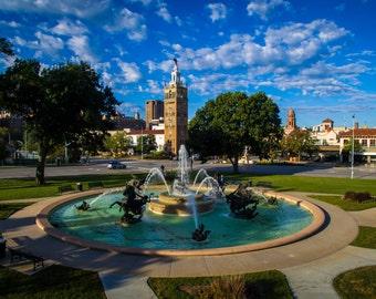 Kansas City Country Club Plaza Fountain
