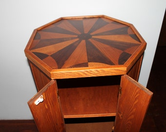Octagonal wood