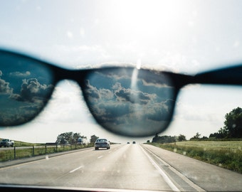 Sunglasses on the Road
