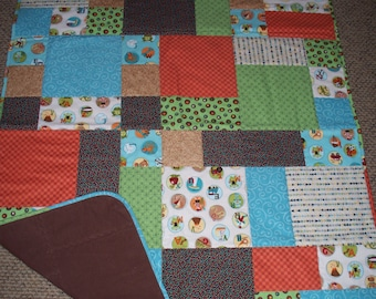 Lots of Dots Baby Quilt
