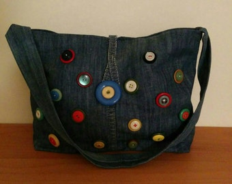 RELO Handmade Recycled jeans bag