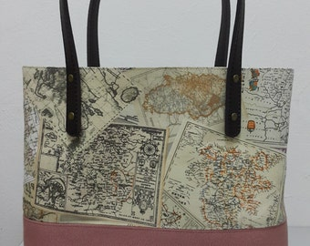 Tote Bag - World Map