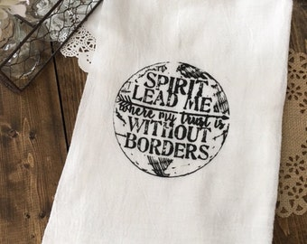 Without Borders Tea Towel