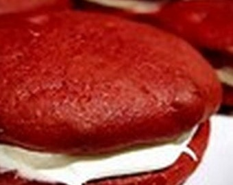 Amish Red Velvet Whoopie Pies