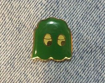 Green Pacman guy