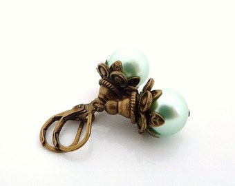 Vintage Mint earrings