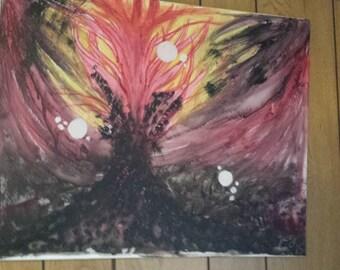 Home-Made Dark Painting