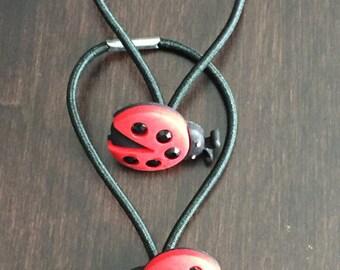 Ladybug Hair Elastic