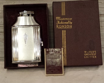 Ronson Mastercase 1930's - 1940's Lighter. A Nice Valentines Day Gift.