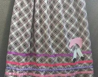 ladies ribbon skirt pow wow reglalia XL