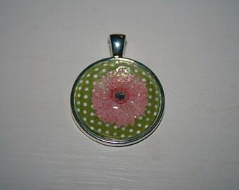 Pink Flower Medallion