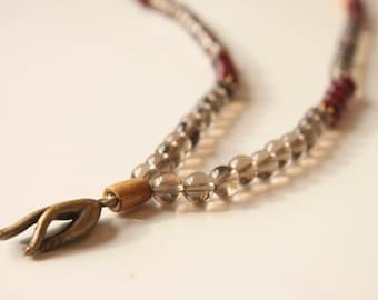 Ibiza mudra necklace