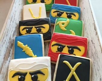 Lego Ninjago Cookies (1 dozen)