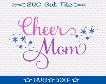 Cheer SVG Cut File / Svg File For Silhouette / Cheerleading SVG / Cheer Squad svg / Cheer Mom svg /  Cheer Svg