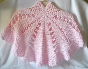 Lightweight Crocheted Summer Shawl