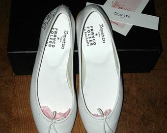 Repetto Made in France, leather Ballet pumps size 39 / 38