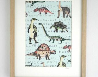 Dinosaur Print