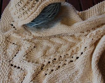 Cover and handmade organic cotton cap