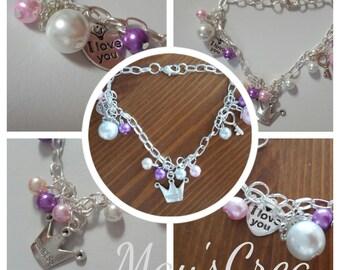 """Bracelet theme """"Princess"""""""