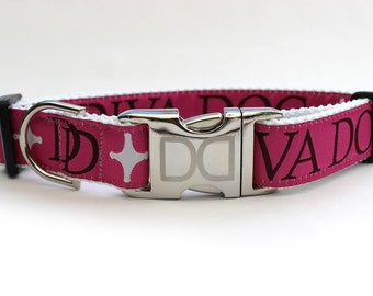 Monogram Dog Collar and Leash