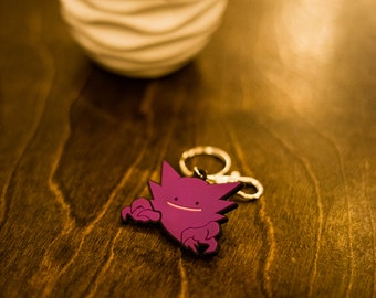 Pokemon Haunter With Ditto Face Key Chain Charm