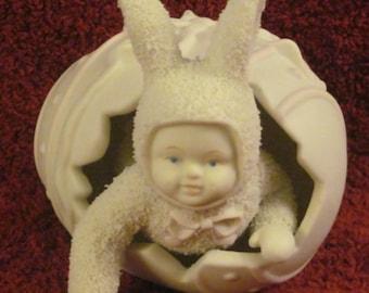 Dept. 56- Porcelain-   Easter   Snowbaby--Vintage-Unique !
