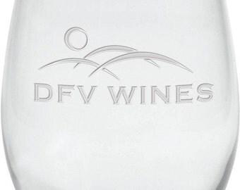 21 oz. Stemless White Wine Glass