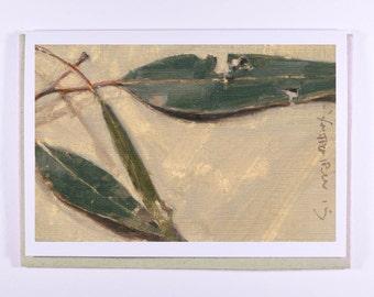 Leaf Study Gift Card #2