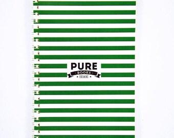 Sketchbook Notebook PUREbooks Green