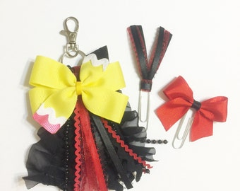 School Colors Bow