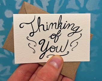 Thinking of You Mini Cards, 10 Pack