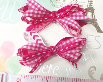 Non slip baby hair bows , baby hair clips