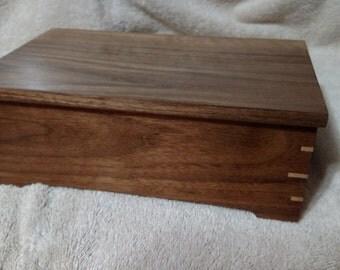 Walnut Keepsake Box