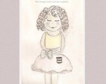 Little Girl Curly
