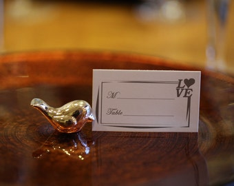 8 Love Bird Place Card Holders- Wedding