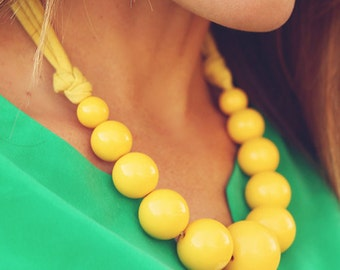 Wilma Bubble Statement Necklace