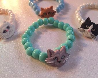 Kitty kat bracelets!