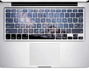 Snow mountain Decal Macbook Keyboard Stickers Macbook Keyboard Cover Macbook Decal Stickers Macbook Keyboard Decal Keyboard Skin