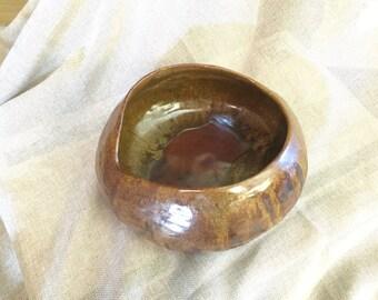 Hand built Ceramic Serving bowl