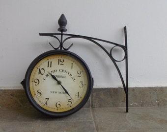 Battery Clock Etsy