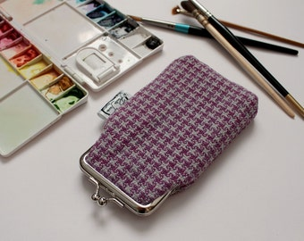 Fabric Glasses Case made from Handwoven Organic Cotton