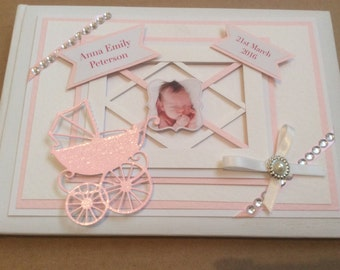 Baby Girl or Boy Personalised Gift, Christening, New Arrival, Baptism