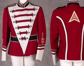 Vintage Mens Band Uniform Jacket
