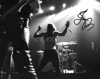 Iggy Pop signed photo print - 12x8 inch - high quality - The Stooges