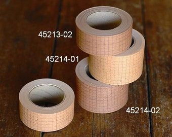Pre-order Classiky Grid Kraft Paper Tape (ships On August)