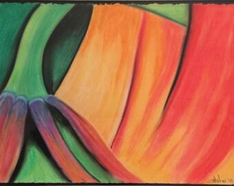 Flower Orange 1 - print only