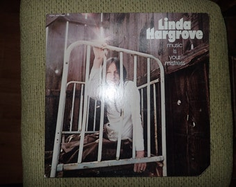 Vintage Vinyl Record Linda Hargrove music is your mistress