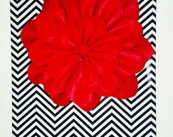 3D wall flower decor