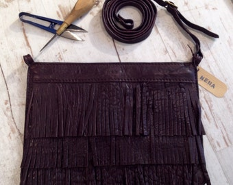 Nena, bag/pouch with fringes
