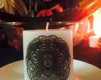 Freyja candle  2.5x2.8 inches